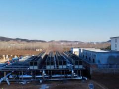 30余万平的济南小区空气能采暖项目,中广欧特斯极限速